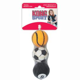 Kong Sport Ballen Medium 3 stuks