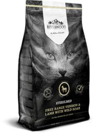 Riverwood Kat Graanvrij, Sterilised (Hert, Lam en Wild Zwijn) 2kg