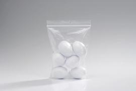 Plastic kippen ei, 6stuks