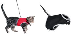 Kattenharnas Soft met Looplijn - voor de kat ONE SIZE