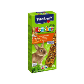 Vitakraft Konijn Kracker Honing 112 gram