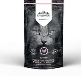 Riverwood Kitten Graanvrij (Kip, Eend en Zalm) 300 gram