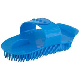 Rosborstel Sarvis Plastic Greep Blauw Groot