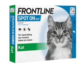 Frontline Spot On Kat 4 pipetten