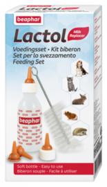Beaphar voedingsset (zuigflesje + speentjes)