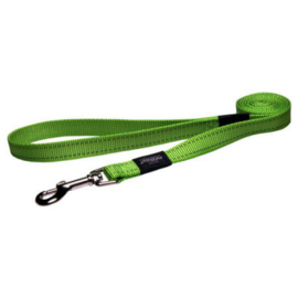 Rogz snake looplijn medium 1.4m groen