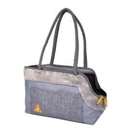 Promenade Paris Pet Bag Casual Chic Grijs 40x19x26cm