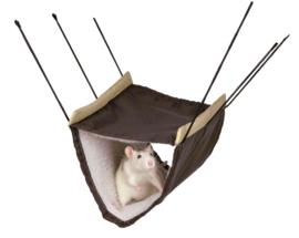 Hangmat met 2 Verdiepingen 22 × 15 × 30 cm - Rat
