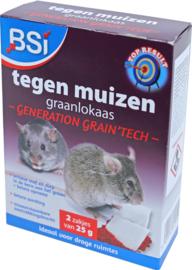 BSI Lokaas Generation Grain'tech Muizengif 2x25gram