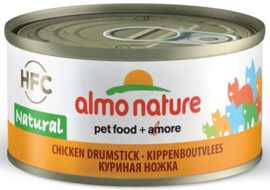 Almo Nature Kippenbout Vlees 70gr