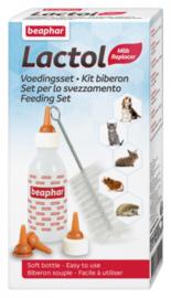 Beaphar Lactol Voedingsset (Zuigflesje + Speentjes)