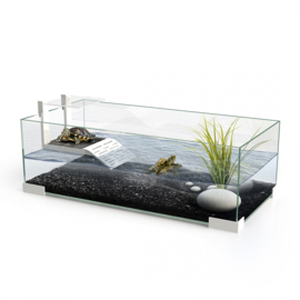 Ciano Tartarium 80 - 79x29,7x27,5cm - Waterschildpad Aquarium