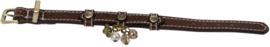 Halsband Bruin Leer 29cm