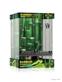 Exo Terra Terrarium incl. achterwand 30x30x45cm - Bamboo Forest Kit Small