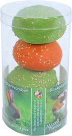 Boon Knaagdierbroodjes in Ton Oranje & Groen 4 stuks