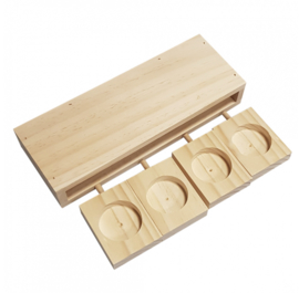 Knaagdierspeelgoed Houten Sniffle `n Snack Puzzel Ben 22x8x3,6cm