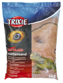 Trixie Zand op Kleibasis Donkerrood 5kg