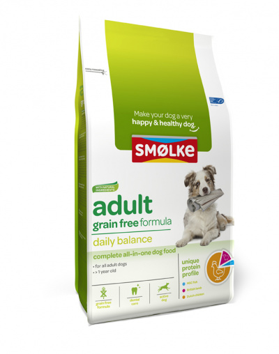 Smølke Adult Graanvrij 3kg