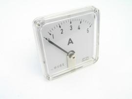 Analoge Ampèremeter 0- 5 A