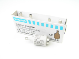 Siemens DII-type fuse-links 4A