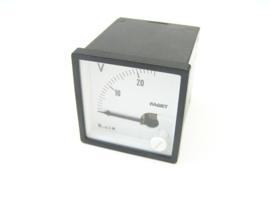 Faget Volt meter 0-20 (25) V