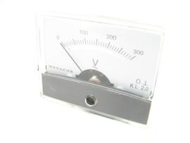 Monacor Voltagemeter 0-300V