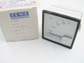 Cewe Instrument IQ72 0-200(400)A