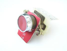 Telemecanique XB2-A  front element red