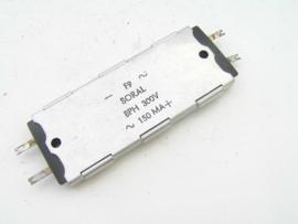 Soral BPH 300V ~. 150 MA+. - F9 ~