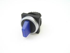 Klöckner-Moeller M22 keuze schakelaar blauw