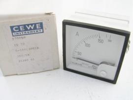 Cewe Instrument IQ72 0-150 (300)A