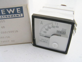 Cewe Instrument IQ48 0-250(500)A