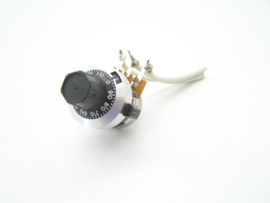 Potentiometer knop 6mm