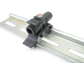 Legris 6 mm DIN-Rail Tube-to-Tube Adapter