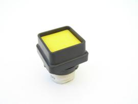Telemecanique DA push button yellow