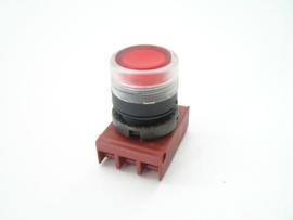 Cema Drukknopschakelaar rood