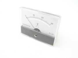 Monacor Voltage meter 0 - 30V