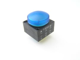 Siemens 3SB30016AA50 signaallamp blauw
