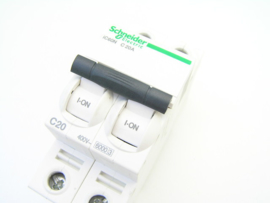Schneider Electric A9F79220 iC60N C 20A