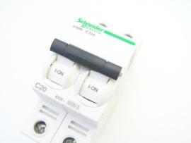 Schneider Electric A9F79220 iC60N C 20A