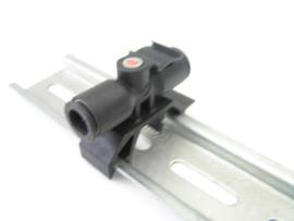 Legris 8 - 5/16 DIN-Rail Tube-to-Tube Adapter