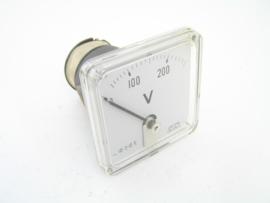 Analoge voltmeter 0 - 200 (300) V
