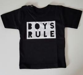 Shirtje 'Boys rule'