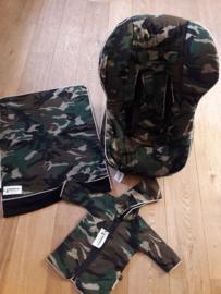 Jasje, tasje en kleedje Army