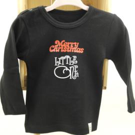 Shirtje 'Merry Christmas little one'