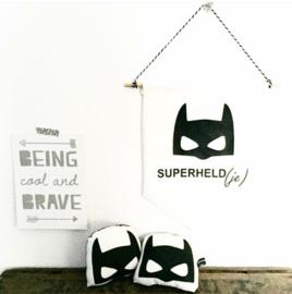"Banner ""superheld(je)"""