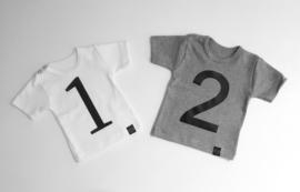 Cijfer 2 voor op shirt