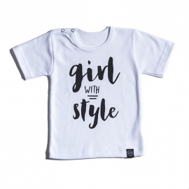 Shirtje 'girl with style'