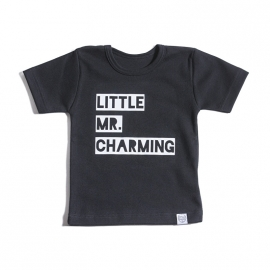 Shirtje 'Little mr. charming'