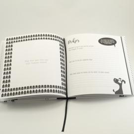 Baby's eerste jaar boek (te personaliseren)